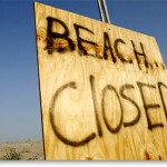 grand-isle-LA-beach-closed