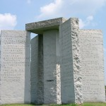 Georgia Guidestones in Multiple Languages