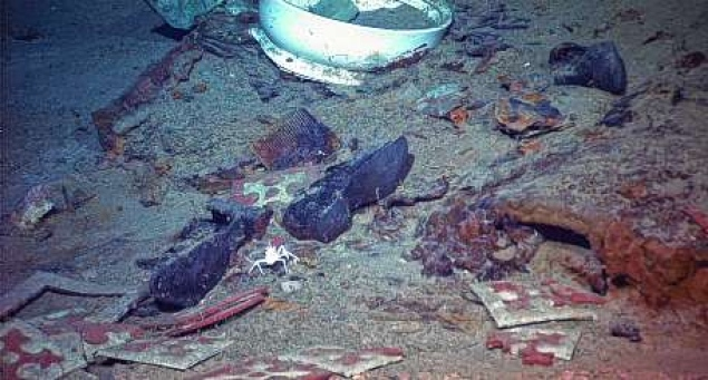 Human Remains Found In Titanic Shipwreck Photos The