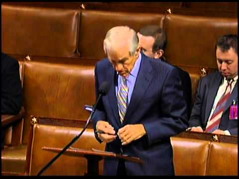 Congressman Ron Paul's Speech Against Iran Sanctions August 1, 2012
