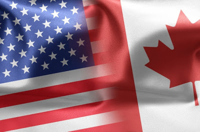 faded-canada-and-us-flag