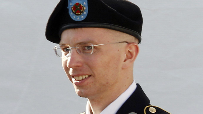 Famed Wikileaks whistleblower Bradley Manning had his last pre-trial hearing today before his case goes to trial in early June. - one_thousand_days_with_no_trial_is_still_speedy_says_bradley_manning_judge.si_