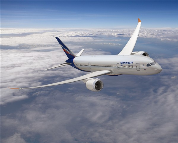 Boeing, Aeroflot Finalize Order for 22 787 Dreamliners