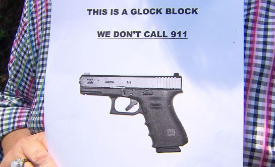 This Is a Glock Block