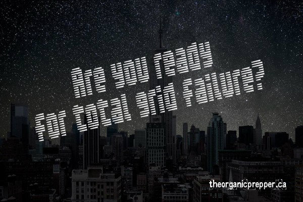 You've Been Warned: Why You Need to Be Ready for Total Grid Failure