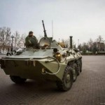 Russian-Military-Vehicle-In-The-Main-Square-Of-Sevastopol-450x299