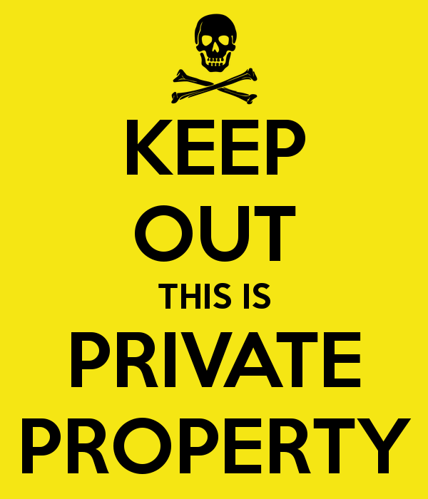 Is A School Considered Private Property