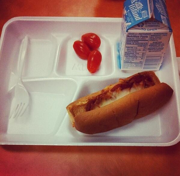 Michelle Obama lunches