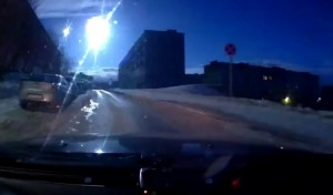 Fireball Explodes Over Murmansk, Russia