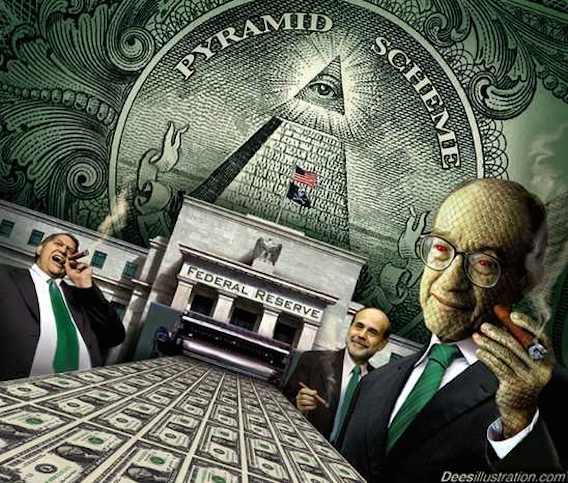 What is the Federal Reserve system? How did it come into existence? Is it part of the federal government? How does it create money?