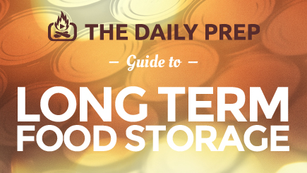 Infographic: Long Term Food Storage Guide