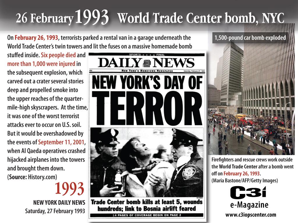 Image result for 1993 bombings of world trade center