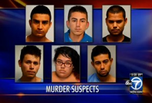 Illegal Alien Gang Members Arrested for Murder of Homeless Man