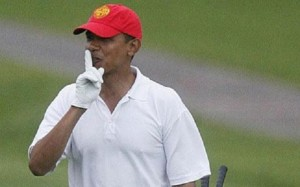 The World Gets Crazier and Obama Checks Out to Go Golfing