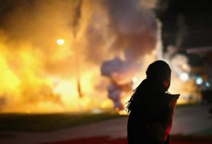BLACK PANTHERS TAKE OVER FERGUSON FIRE DEPARTMENT