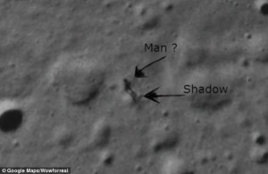 NASA Image Shows Mysterious Figure on Moon