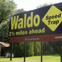 waldo-speed-trap-sign