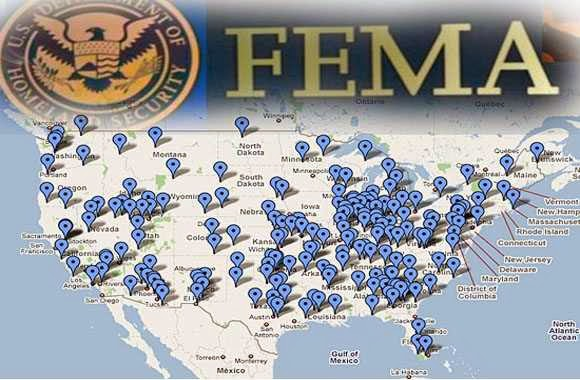 FEMA Camp map | The Daily Sheeple