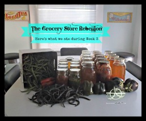 The Grocery Store Rebellion: Here's What We Ate During Week 3