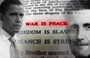 """Obama: """"We must declare war on war, so the outcome will be peace upon peace."""""""