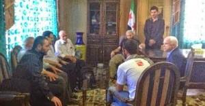 McCain Dinner Idriss, Baghdadi