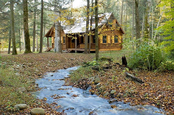 Log Cabin In The Woods The Daily Sheeple