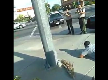 """""""That is a Coward Pointing a Gun at Me"""" Veteran Refuses to Submit During Police Standoff"""