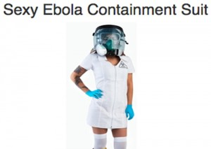 Just in Time for Halloween: Get Your Own 'Sexy' Ebola Containment Suit Costume!