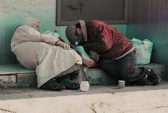 homelesscouple