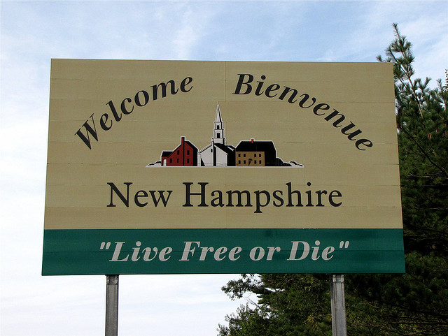 live free or die new hampshire
