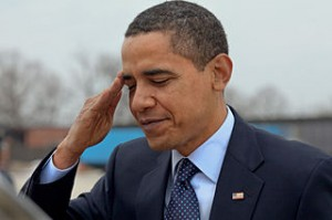 President Obama's Joke Calling Troops 'Santa in Fatigues' Silences Audience