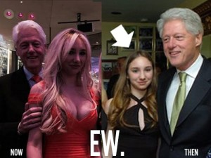 Viral Pic of Bill Clinton Creeping on Long-Time Friend's Daughter Creeps People Out
