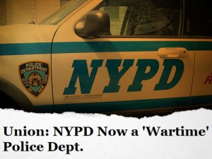 NYPD's Cop Union: 'We Have Become a Wartime Police Department' after Two Officers Slain