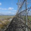 prison fence public domain