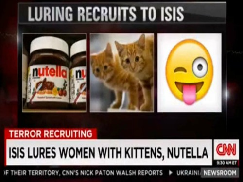 ISIS lures women