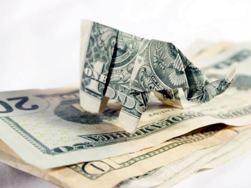 dollar elephant