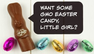 Want Some GMO Easter Candy, Little Girl?