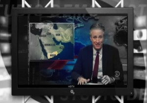 """Whose Side Are We on Again?"" Jon Stewart Mocks US Teaming up with Iran While Fighting Iran"