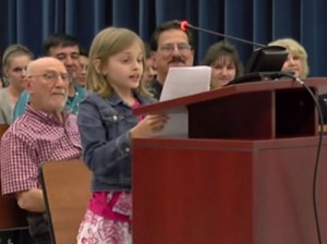 Eloquent 4th Grader Brings Crowd to Its Feet After She Rebukes Gov't School Testing