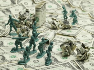 Blood Money: These Companies and People Make Billions of Dollars From War