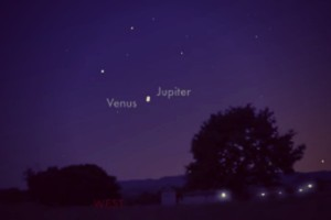 "Rare Bethlehem ""Superstar"" Tonight: Venus and Jupiter Converging for First Time in 2,000 Years"
