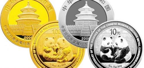 China silver gold