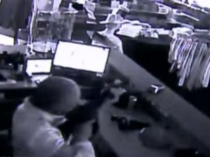 Video: Ar-15-Wielding Business Owner Defends Shop from Armed Robbers