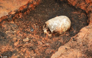 2,000-Year-Old Elongated 'Conehead' Skeleton Found at 'Russian Stonehenge'