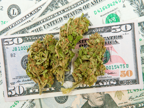dollars marijuana