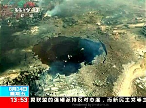 BOMBSHELL: China and America Already at War: Tianjin Explosion Carried out by Pentagon Space Weapon