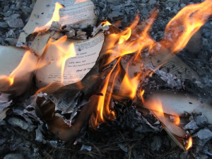 German Library Burns Books That Aren't Politically Correct