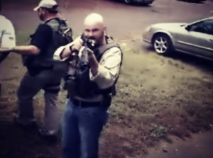 Cop Threatens Innocent Pregnant Woman and Her Fiancé with a Shotgun for Filming Them