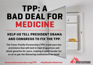 Did Obama Bomb Doctors Without Borders for Opposing TPP?