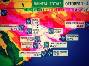 National Guard Deployed and Curfews Ordered as South Carolina Is Hit by '1000-Year Rain'
